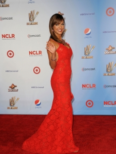 Eva La Rue arrives at the 2011 NCLR ALMA Awards held at Santa Monica Civic Auditorium in Santa Monica, Calif., on September 10, 2011