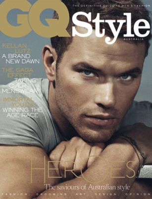 GQ Style Australia September 2011 cover star Kellan Lutz