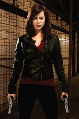 "Eve Myles as Gwen Cooper on ""Torchwood: Miracle Day"""