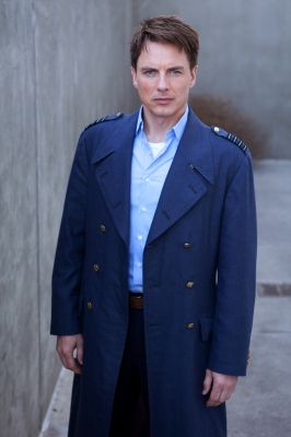 John Barrowman as Captain Jack Harkness in &#8220;Torchwood: Miracle Day&#8221;