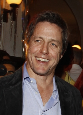 Hugh Grant attends the after show party to the premiere &#8216;Maennerherzen 2 und die ganz grosse Liebe&#8217; at Claerchens Ballhaus, Berlin, September 7, 2011