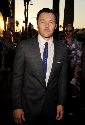 Joel Edgerton arrives at the premiere of 'Warrior' at the Cinerama Dome Theatre in Los Angeles on September 6, 2011