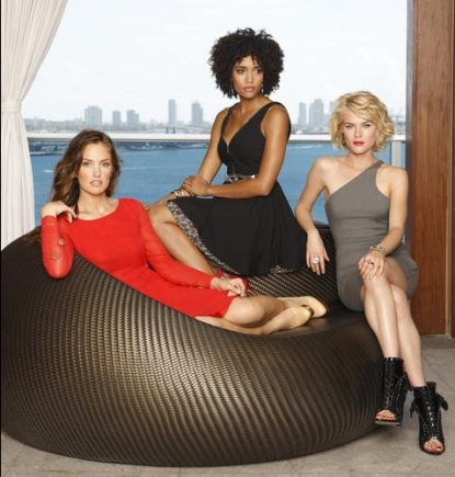 "The ladies of ""Charlie's Angels"""