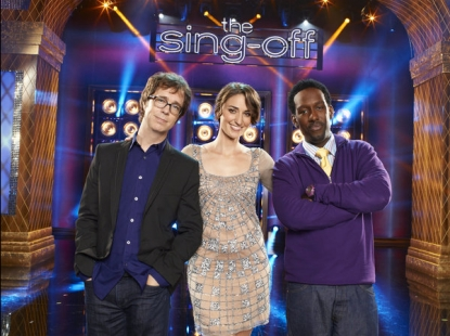 'The Sing-Off'--Ben Folds, Sara Bareilles, and Shawn Stockman