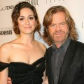 Emmy Rossum and William H. Macy arrive at Los Angeles Confidential And The Art Of Elysium Celebration of the 2011 Emmys With Emmy Rossum And William H. Macy in West Hollywood on September 15, 2011
