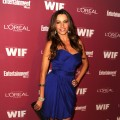 Sofia Vergara poses at The 2011 Entertainment Weekly And Women In Film Pre-Emmy Party Sponsored By L'Oreal at BOA Steakhouse in West Hollywood on September 16, 2011
