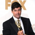 Kyle Chandler of 'Friday Night Lights' poses in the press room after winning Outstanding Lead Actor in a Drama Series during the 63rd Annual Primetime Emmy Awards held at Nokia Theatre L.A. LIVE in Los Angeles on September 18, 2011