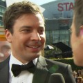 2011 Emmy Awards Red Carpet: Jimmy Fallon's Words Of Encouragement To Jane Lynch