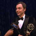 2011 Emmy Awards Backstage: Jim Parsons On His Win - &#8216;It&#8217;s Lightning Struck Twice&#8217;