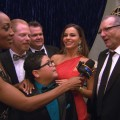 2011 Emmy Awards Backstage: 'Modern Family' Are The Big Winners
