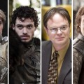 Jamie Lannister, Robb Stark, Dwight Scrhute (Rainn Wilson), Theon Greyjoy