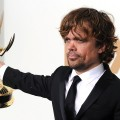 Peter Dinklage of 'Game of Thrones' poses in the press room after winning outstanding supporting actor in a drama series 2011 during the 63rd Annual Primetime Emmy Awards held at Nokia Theatre L.A. LIVE on September 18, 2011