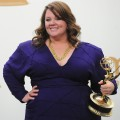 Melissa McCarthy is all smiles in the press room during the 63rd Annual Primetime Emmy Awards held at Nokia Theatre L.A. LIVE in Los Angeles on September 18, 2011