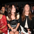 Pippa Middleton sits in the front row during the Temperley runway show at London Fashion Week Spring/Summer 2012 at the British Museum, London, on September 19, 2011