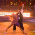 "Lacey Schwimmer and Chaz Bono cha cha on ""Dancing with the Stars,"" Season 13, Episode 1"