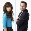 "Zooey Deschanel and Jake Johsnon from ""New Girl"""