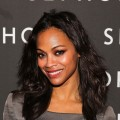 Zoe Saldana attends the Sephora Meatpacking District Grand Opening Party in New York City on September 15, 2011