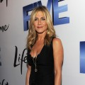 Executive Producer and Director Jennifer Aniston attends the premiere of Lifetime's Five, from Jennifer Aniston, Demi Moore, Alicia Keys at Skylight Soho, NYC, on September 26, 2011
