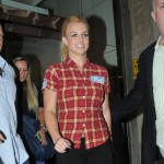 Britney Spears is spotted out and about in London, England, on September 15, 2011
