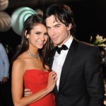 &#8220;Vampire Diaries&#8221; star Nina Dobrev and Ian Somerhalder attend the 63rd Annual Primetime Emmy Awards Governor&#8217;s Ball, Los Angeles, on September 18, 2011
