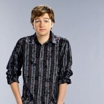 Angus T. Jones' 'Two and a Half Men' cast shot