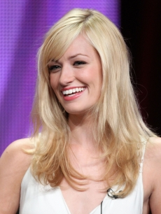 Beth Behrs takes part in the '2 Broke Girls' panel during the CBS portion of the 2011 Summer TCA Tour held at the Beverly Hilton Hotel, Beverly Hills, on August 3, 2011