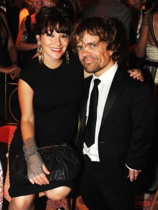 Peter Dinklage and Erica Schmidt attend HBO&#8217;s Official Emmy After Party at The Plaza at the Pacific Design Center, Los Angeles, on September 18, 2011