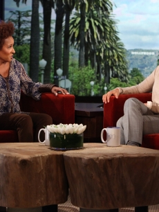 Wanda Sykes visits 'The Ellen DeGeneres Show' on September 26, 2011