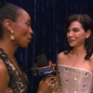 2011 Emmy Awards Backstage: Julianna Margulies - &#8216;I Love My Job&#8217; On &#8216;The Good Wife&#8217;