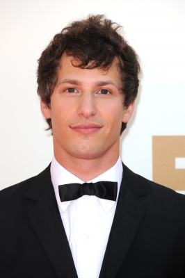 Andy Samberg arrives at the 63rd Primetime Emmy Awards in Los Angeles on September 18, 2011