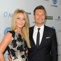 Julianne Hough and Honoree Ryan Seacrest arrive at LA's Promise 2011 Gala Honoring Ryan Seacrest at the Kodak Theatre, Hollywood, on September 27, 2011