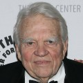 Television personality Andy Rooney attends a gala honoring Sumner Redstone presented by The Paley Center For Media at the Waldorf-Astoria Hotel on February 07, 2008 in New York City