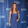 Poppy Montgomery attends the 2011 CBS Upfront at The Tent at Lincoln Center on May 18, 2011 in New York City