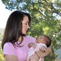 Kristin Davis and daughter Gemma Rose
