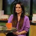 &#8216;Real Housewives of Beverly Hills&#8217; star Kyle Richards stops by Access Hollywood Live on October 11, 2011