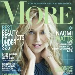Naomi Watts on the cover of More Magazine's October 2011 issue