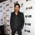 Joe Manganiello arrives at RAGE Official Launch Party at Chinatown's Historical Central Plaza in Los Angeles on September 30, 2011