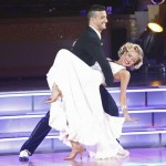 "Kristin Cavallari and Mark Ballas perform a quickstep on ""Dancing with the Stars,"" Season 13, Week 2, September 26, 2011"
