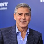 George Clooney  attends the premiere of 'The Ides of March' at the Ziegfeld Theater, NYC, Oct. 5, 2011