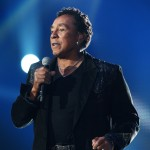 Smokey Robinson performs at the 'Michael Forever' concert to remember the late Michael Jackson at The Millenium Stadium in Cardiff, Wales, on October 8, 2011
