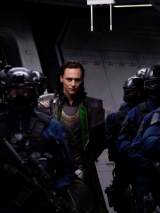 Tom Hiddleston in 'The Avengers'