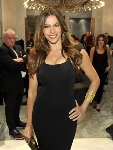 Sofia Vergara seen looking lovely at the Monika Chiang LA Store opening in Los Angeles, Calif. on October 10, 2011