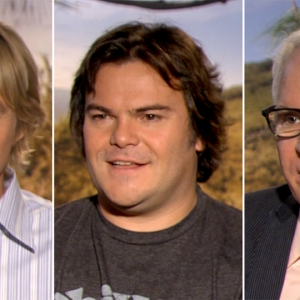 Owen Wilson, Jack Black & Steve Martin Talk Working Together On 'The Big Year'