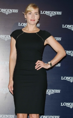 Kate Winslet spotted looking glam at the Longines press conference in Shanghai, China on September 29, 2011
