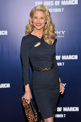 Christie Brinkley attends the premiere of 'The Ides of March' at the Ziegfeld Theater in New York City on October 5, 2011