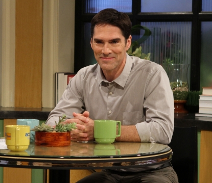 Thomas Gibson stops by Access Hollywood Live on September 28, 2011