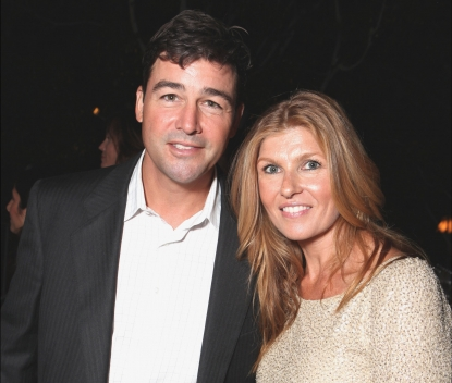 Kyle Chandler and Connie Britton are seen at Showtime's 2010 Emmy Nominees Party at Skybar at Mondrian in West Hollywood, Calif. on August 28, 2010