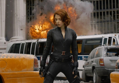 Scarlett Johansson in &#8216;The Avengers&#8217;