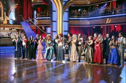 The cast of Week 4 of 'Dancing with the Stars,' Oct. 10, 2011