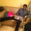 Shawn Stockman backstage at &#8216;The Rosie Show&#8217;